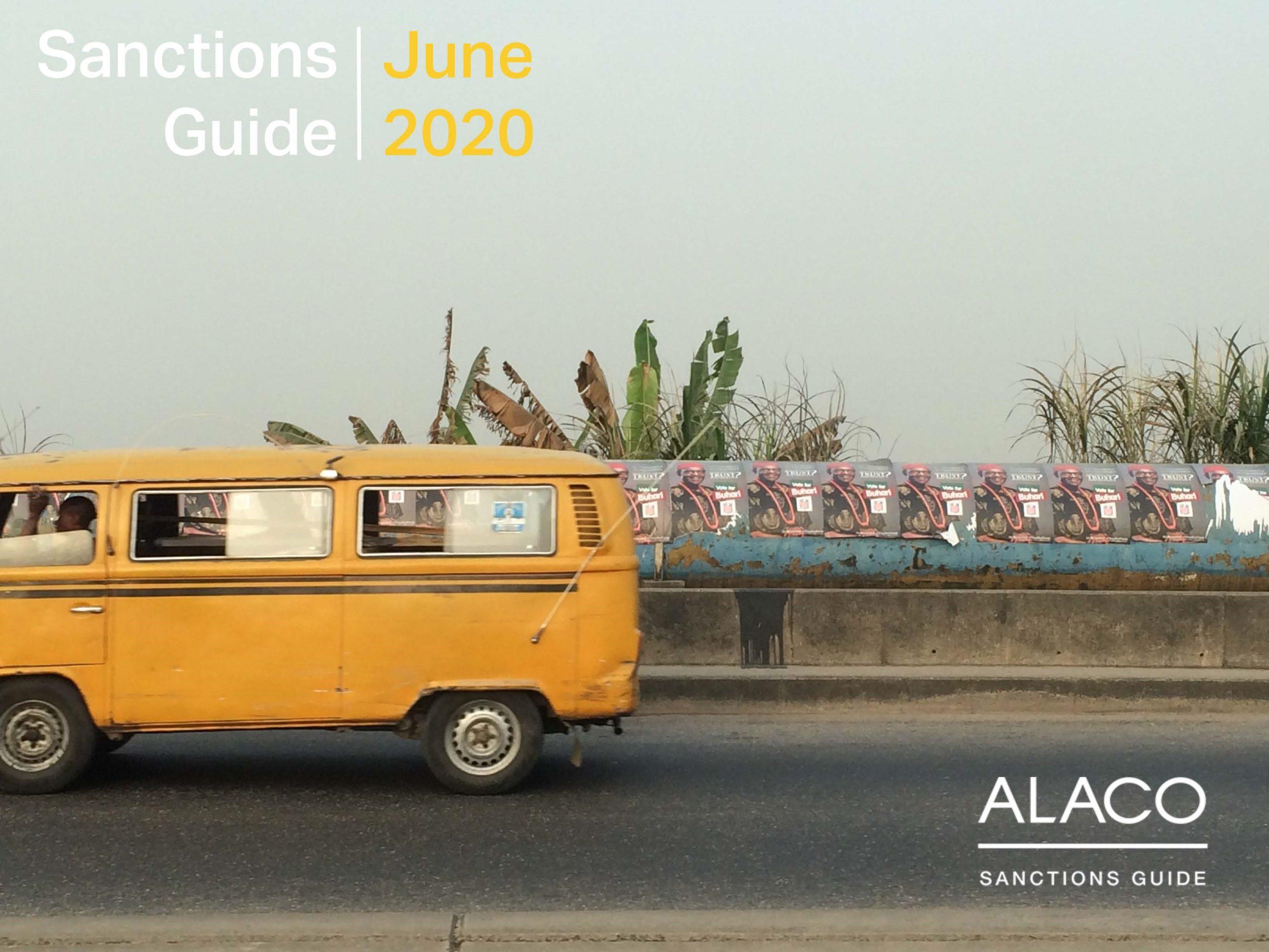 Sanctions Guide – June 2020