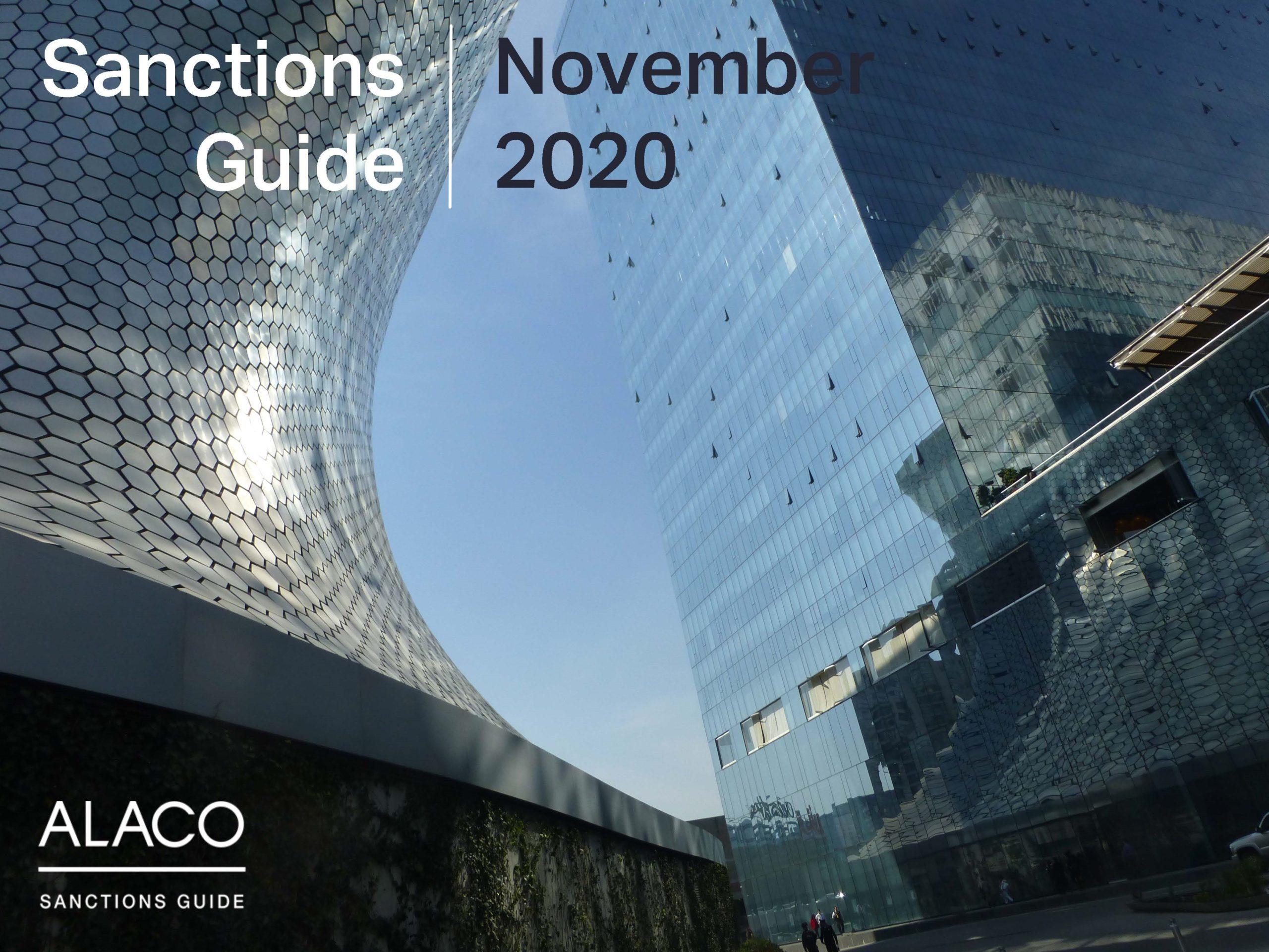Sanctions Guide – November 2020